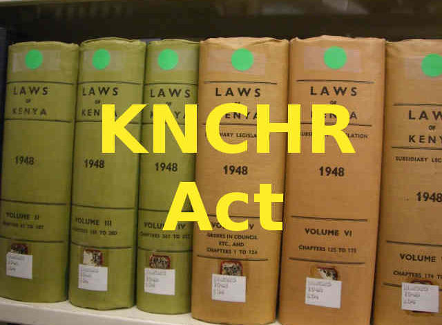 Photo of Kenya National Commission on Human Rights Act