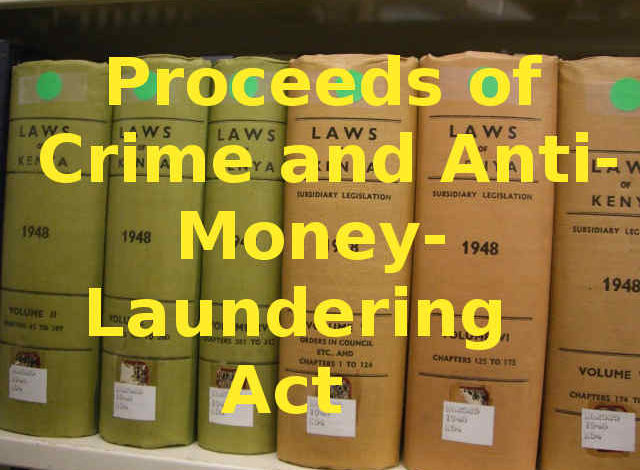 Photo of Proceeds of Crime and Anti Money Laundering Act, 2009