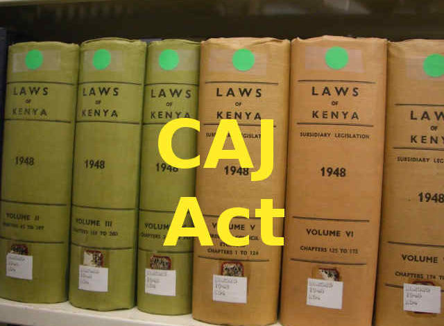 Photo of CAJ Act – Commission on Administrative Justice Act