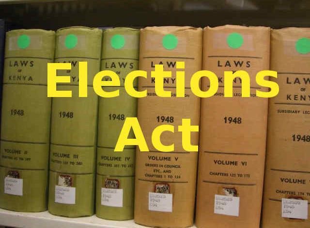 Photo of Elections Act
