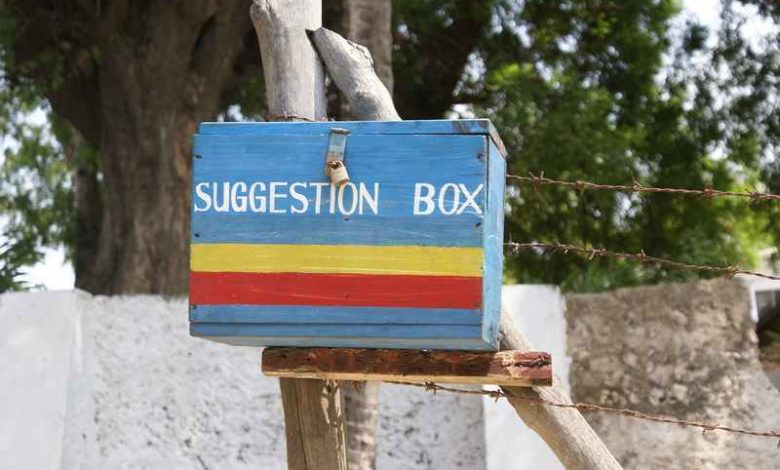 Lamu Police Suggestion Box, Photo: Lindsay Bremmer