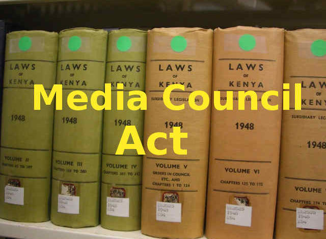 Photo of Media Council Act, 2013