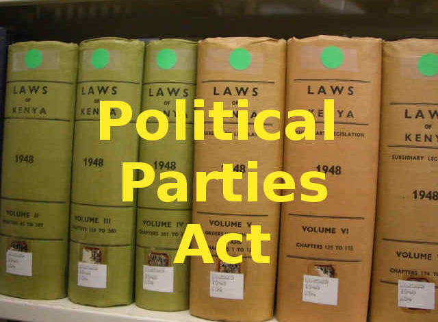 Photo of Political Parties Act