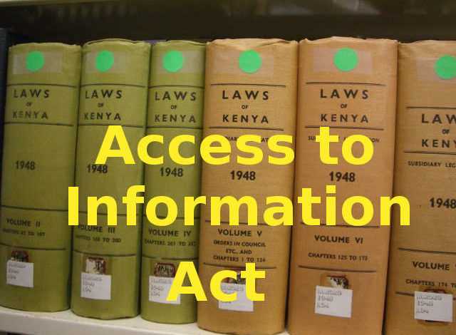 Photo of Access to Information Act