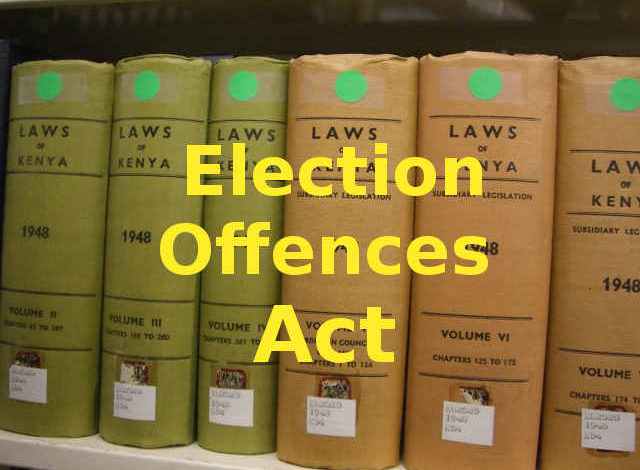 Photo of Election Offences Act