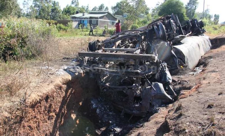 How well are Kenyans protected against petrol accidents?