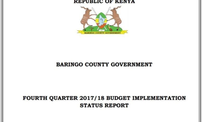 Photo of Quarterly Budget Implementation Reports