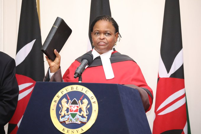 Photo of Kenya's First Female Chief Justice Declares War On Corruption